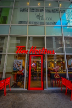 Life starts after coffee. Tim Hortons is now ready to serve San Lorenzo Place residents with this basic working-human need! What's even better than this you ask? It's OPEN24/7!