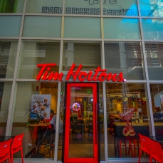 Life starts after coffee. Tim Hortons is now ready to serve San Lorenzo Place residents with this basic working-human need! What's even better than this you ask?  It's OPEN 24/7!